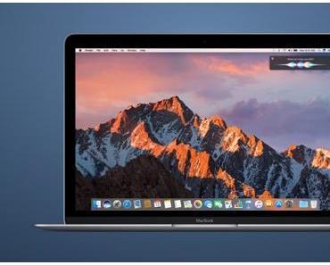 Mac-Update auf macOS Sierra 10.12.4