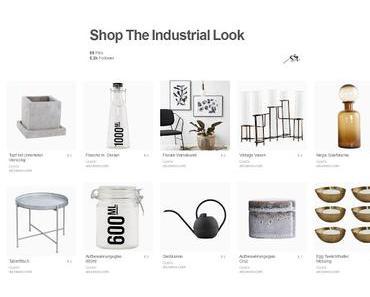 Wohntrend: Industrial Look + Pinterest Feature
