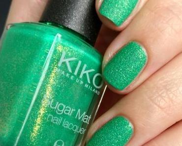 [Nails] #AlteLackeNeueLiebe mit KIKO Sugar Mat nail lacquer 643 Spring Green