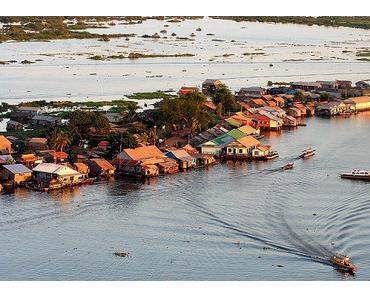 Tonle Sap See-ein beliebtes Reiseziel in Kambodscha