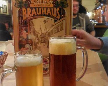 Ein Wochenende in Heidelberg (1): Vetters Brauhaus
