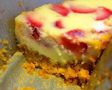 Rezept Erdbeer-Käsekuchen für den Omnia
