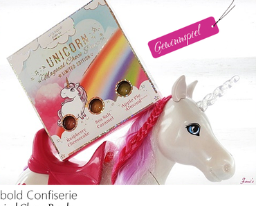 Wiebold Confiserie  - UNICORN - Magical Choco Pearls - Limited Edition  - Gewinnspiel