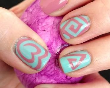 [Nails] Lacke in Farbe ... und bunt! ALTROSA mit MANHATTAN LAST & SHINE 260 LO LO LOVE IT
