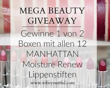 Gewinnspiel // 2 Manhattan Moisture Renew Boxen - 12 Lippenstifte