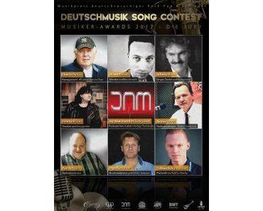Musiker-Awards 2017: Jury des 5. Deutschmusik Song Contest steht vor schwerer Entscheidung