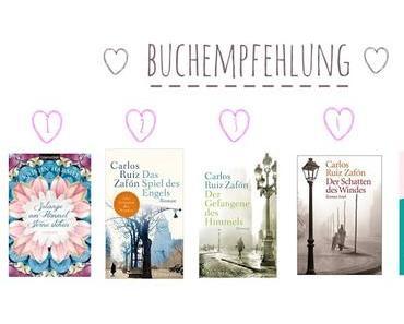 Buchempfehlungen - meine TOP 5 der letzten Monate