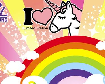 Rival de Loop young I love Unicorn Limited Edition - Einhörner im Rossmann - Kawaii Tuesday