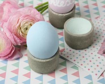Eierbecher aus Beton selber gießen
