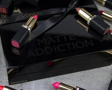 L'Oréal Color Riche Matte Lippenstifte – Review und Swatches