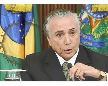 Jetzt ist es klar: Die Amtsenthebung von Dilma Rousseff war ein Schmierentheater