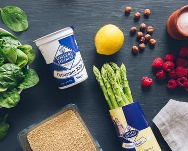 """Frischer Couscous Spargel Salat mit EDEKA """"Unsere Heimat – echt & gut"""""""