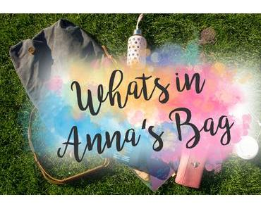[TAG] What's in Anna's Bag ?
