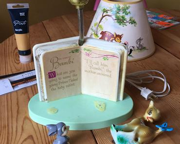 Ein Traum in Bambi - meine neue Disney Lampe