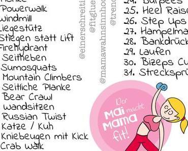 Der Mai macht Mama fit – bist du auch dabei?