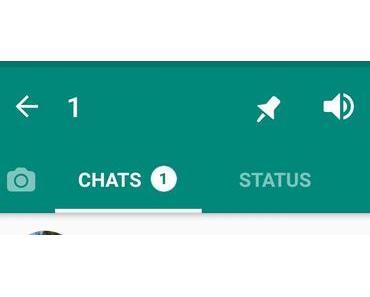 WhatsApp: Neue Beta lässt euch drei Chats anpinnen