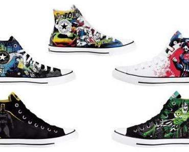 Converse Chucks All Star DC Comics cartoon hero series Sondermodelle