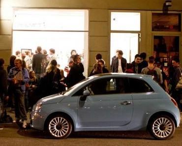Der Fiat 500 als Kunstobjekt
