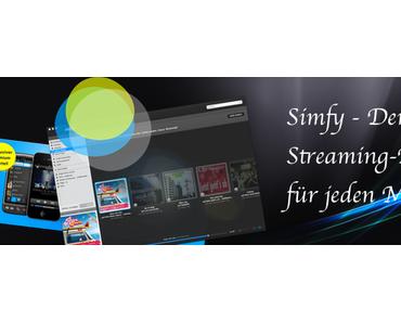 Simfy – Der Musik-Streaming Dienst, der auch in Deutschland funktioniert