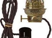 Petroleumlampen elektrisch Charme 1920er beleuchtet