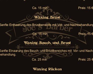 Joe´s Barber Gentlemen´s Lounge in Wolfsburg-Fallersleben