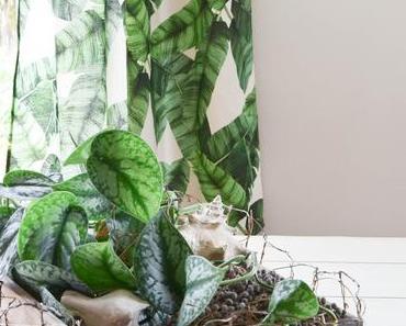Kreative Deko-Kiste im Botanical Style für euren Tisch