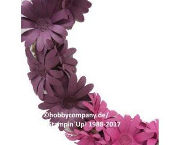 Papierblumen-Kranz
