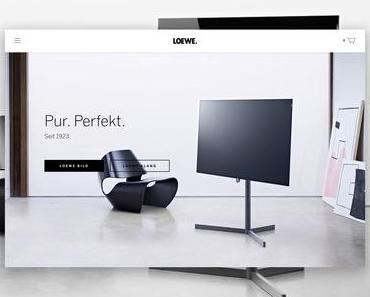 Gut gebrüllt … Corporate Creation betreute Web-Relaunch für Loewe
