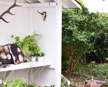 Deko für das Teichhaus und mein Garten im Mai