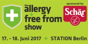 Allergy & free from Show 2017 in Berlin – 17. und 18. Juni – Offline Treffen