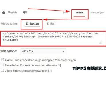 Tutorial: Youtube-Videos in WordPress-Artikel einfügen