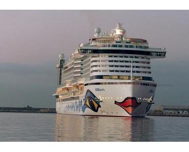 AIDAperla erreicht Limassol – der erste Hafen im Mittelmeer