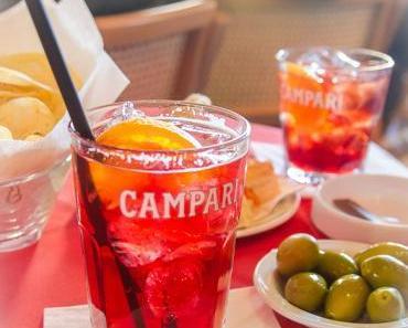 Feierabend Apéro Cocktail: Campari Spritz – Das Originalrezept aus der Camparino Bar Milano