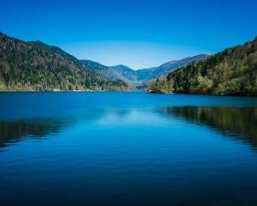 Stausee Lac de Kruth-Wildenstein im Elsass