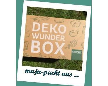 Deko Wunder Box – Einhorn – DEPOT -unboxing