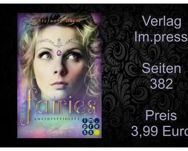 Rezension | Fairies 2 - Amethystviolett von Stefanie Diem