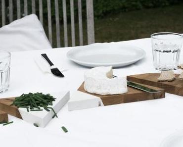 Midsommar: Skandinavische DIY Tischdeko aus Holz