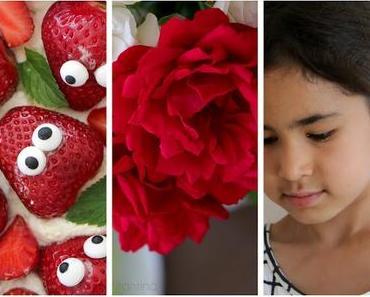 Kindergeburtstag mit Erdbeeren