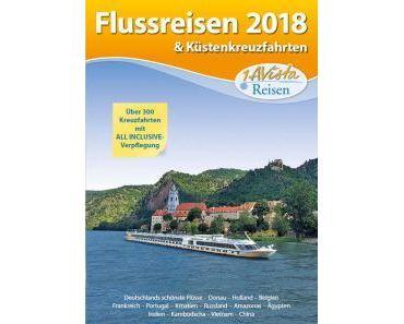 """1AVista Reisen neuer Katalog """"Flussreisen 2018"""""""