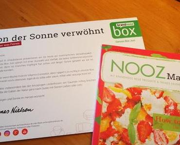 Die Brandnooz Genuss Box / Juni