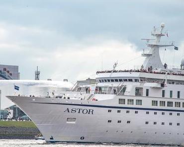 Willkommen an Bord der MS Astor