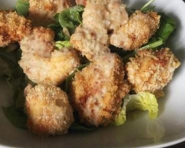Chicken Nuggets mit glutenfreien Pankomehl