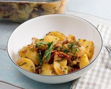 Kartoffelsalat auf Essig-Öl-Basis / sous vide gegart