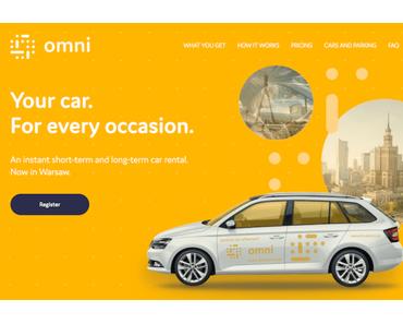 Omni Carsharing: Ridecell kooperiert mit Volkswagen in Polen