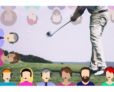 Wanted: Golfer(innen) mit Mikro