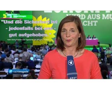 LinksPopulismus: Grünen-Chefin wirbt mit innerer Sicherheit