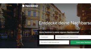 """Soziales Netzwerk """"Nextdoor"""" jetzt auch Deutschland"""