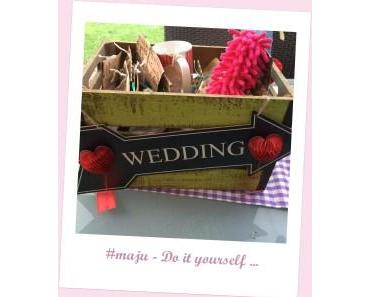 DIY – Hochzeits (Notfall) Kiste – Geschenke selbstgemacht