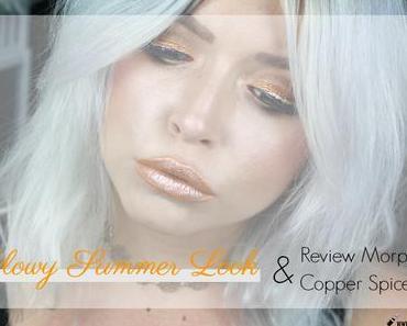  Look & Review  Glowy Summer Look w/ Morphe Copper Spice Palette