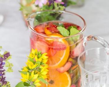 Der eigene Geburtstag, Infused Water für Gäste und gesunde Shopping Tipps